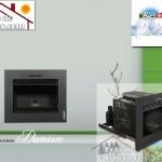 Recuperador de calor a pellets Bio Bronpi Damasco